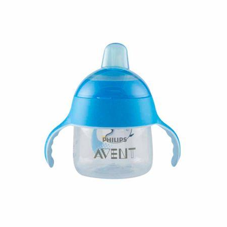 accesorios-para-bebe-avent-taza-spout-premium-azul-7oz