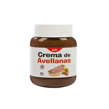 mantequilla-de-mani-bell's-crema-de-avellanas-frasco-350gr