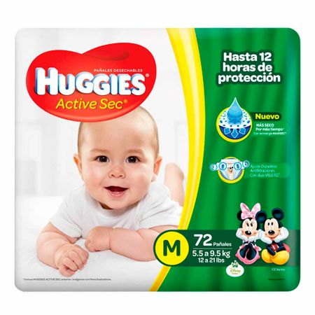 panal-para-bebe-huggies-active-sec-talla-m-paquete-72un