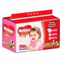 panal-para-bebe-huggies-megapack-natural-care-ninas-talla-xg-paquete-100un