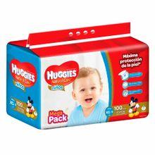 panal-para-bebe-huggies-megapack-natural-care-nin0s-talla-xg-paquete-100un