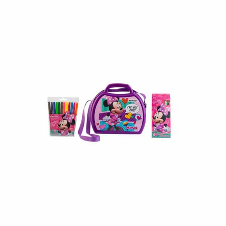 pack-lonchera-purse-colores-x-12-plumones-x-12-minnie-artesco