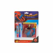 set-spiderman-asturias-plumones