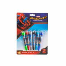 set-spiderman-asturias-plumones-con-sello