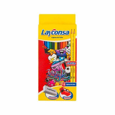 lapiz-layconsa-triangular-caja-12un