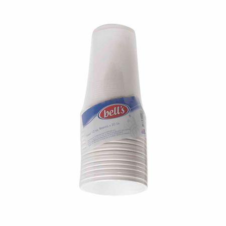 vaso-blanco-12onz-bells-paquete-20un
