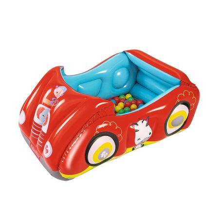 Carro con pelotas Fisher Price Rojo