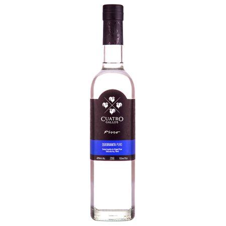 pisco-cuatro-gallos-puro-quebranta-botella-700ml