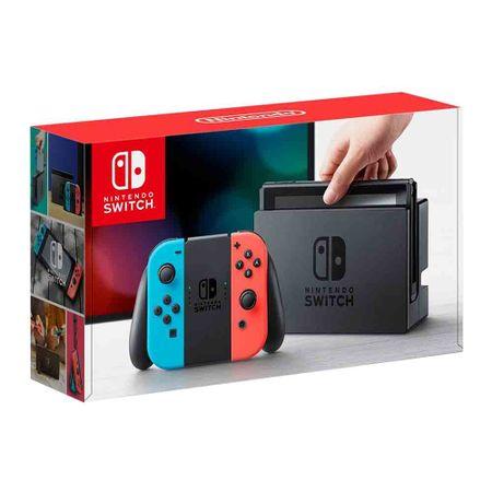consola-nintendo-switch-mandos-joy-con-rojo-y-azul