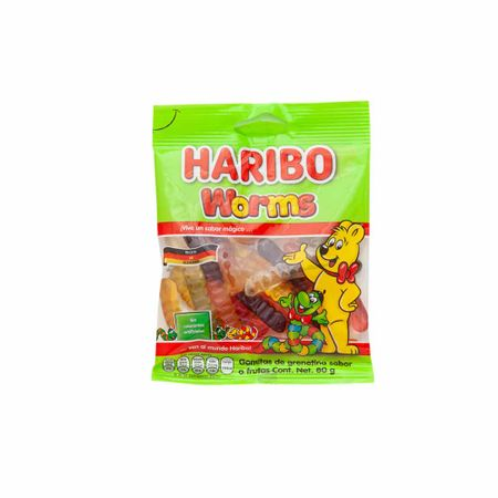 gomas-haribo-worms-bolsa-80g