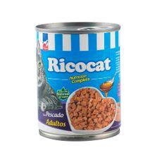 comida-para-gatos-ricocat-trocitos-pescado-en-salsa-para-adultos-lata-330g