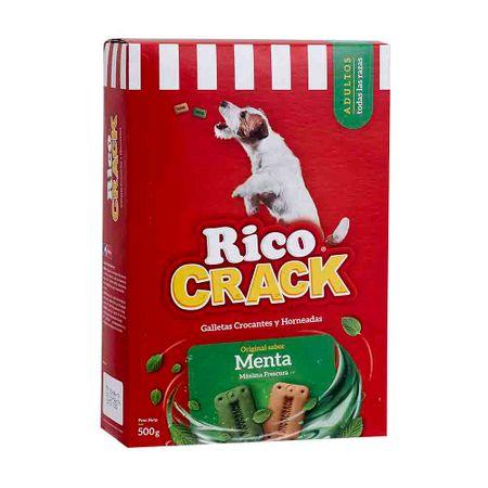 comida-para-perros-ricocrack-galletas-crocantes-y-horneadas-sabor-a-menta-caja-500g
