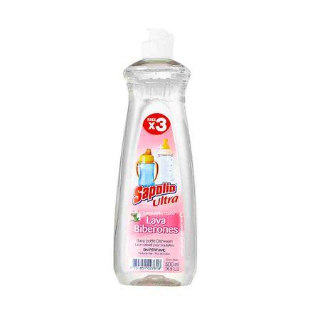 lavavajilla-liquido-sapolio-ultra-lava-biberones-botella-500ml