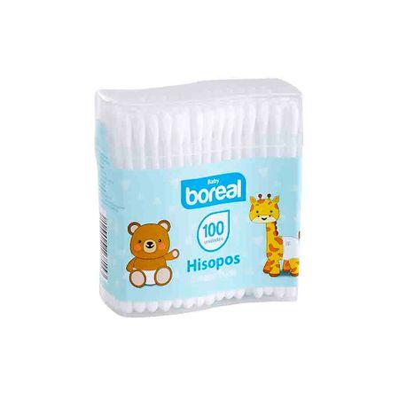 hisopos-para-bebe-boreal-paquete-100un