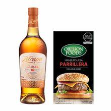 pack-zacapa-ambar-botella-750ml-best-meats-carne-de-res-caja-4un