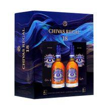 whisky-chivas-regal-18-anos-pack-2un-botella-750ml
