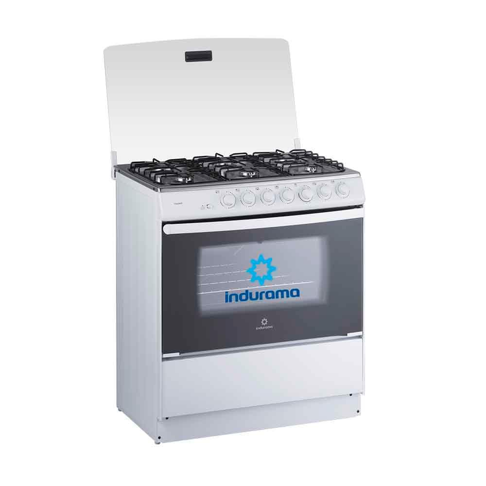 Cocina a Gas INDURAMA Tenerife 6 Quemadores Blanco - Electro ...