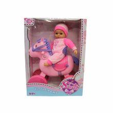 my-sweetie-baby-and-her-pony-35cm-13133-de-luxe