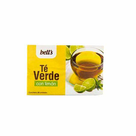 te-verde-con-limon-bells-caja-20un