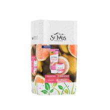 estuche-exfoliante-st-ives-radiant-skin-crema-ponds-clarant-b3-seca