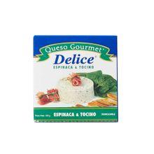 queso-gourmet-delice-espinaca-y-tocino-paquete-150g