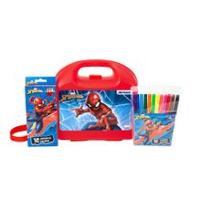 pack-spiderman-lonchera-clasica-colores-largos-12un-plumones-12un