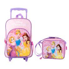 set-princesas-mochila-con-ruedas-lonchera