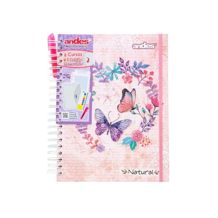 cuaderno-espiral-andes-natural-cuadriculado-160-hojas
