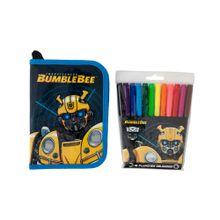 cartuchera-transformers-bumblebee-tipo-libro-plumones-12un