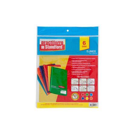 practiforro-standford-para-libro-colores-surtidos-paquete-6un