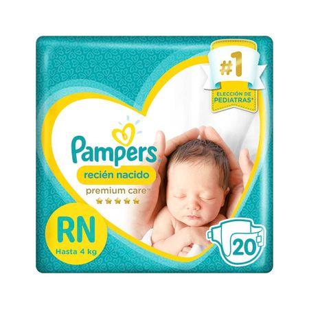 Paquetes Para Bebes Recien Nacidos.Panales Para Bebe Pampers Recien Nacido Paquete 20un