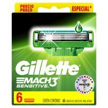 repuesto-para-maquina-de-afeitar-gillete-mach-3-sensitive-caja-6un