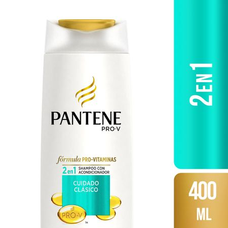shampoo-pantene-pro-v-2-e-n1-cuidado-clasico-frasco-400ml