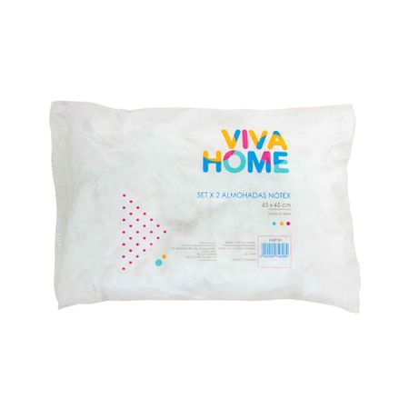 almohada-viva-home-notex-hipoalergenica-paquete-2un