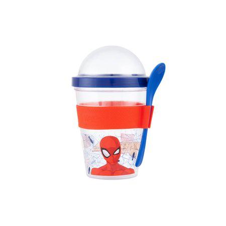 vaso-spiderman-to-go-con-cuchara
