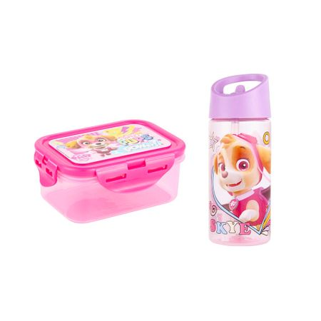 set-paw-patrol-botella-taper-350ml