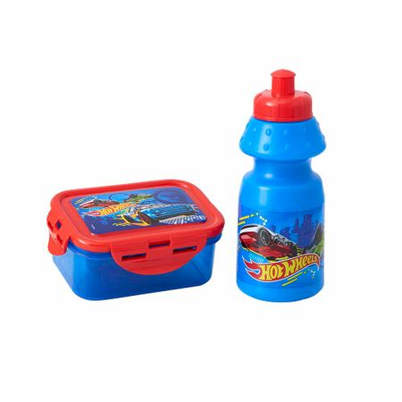set-hot-wheels-botella-taper-350ml