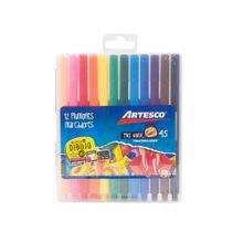 plumones-artesco-trimax-45-caja-plastica-12un
