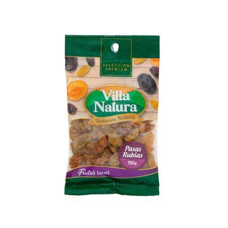 pasas-rubias-villa-natura-bolsa-150g