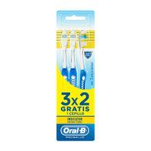 cepillo-dental-oral-b-pro-antibacterial-economico-paquete-3un