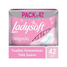 toallas-higienicas-ladysoft-delgada-con-alas-paquete-42un