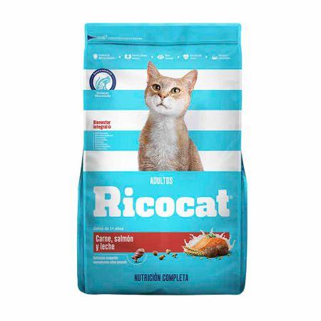 comida-para-gatos-ricocat-adultos-carne-salmon-y-leche-bolsa-9kg