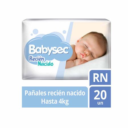 Paquetes Para Bebes Recien Nacidos.Panales Para Bebe Babysec Recien Nacido Paquete 20un