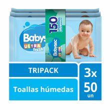 toallitas-humedas-para-bebe-babysec-ultra-con-aloe-vera-paquete-50un-pack-3un