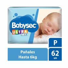 panal-para-bebe-babysec-ultrasec-talla-p-paquete-62un