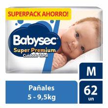 panal-para-bebe-babysec-super-premium-cuidado-total-talla-m-paquete-62un