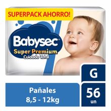 panal-para-bebe-babysec-super-premium-cuidado-total-talla-g-paquete-56un