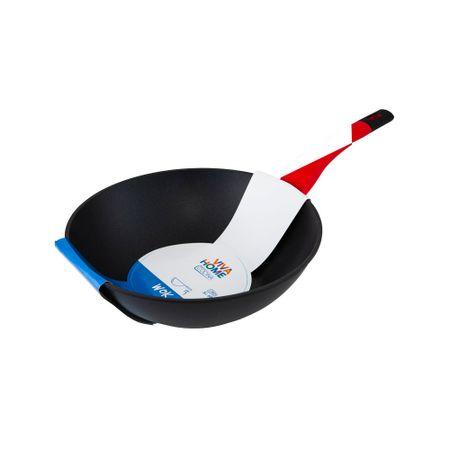 wok-con-mango-de-silicona-rojo-viva-home-28cm