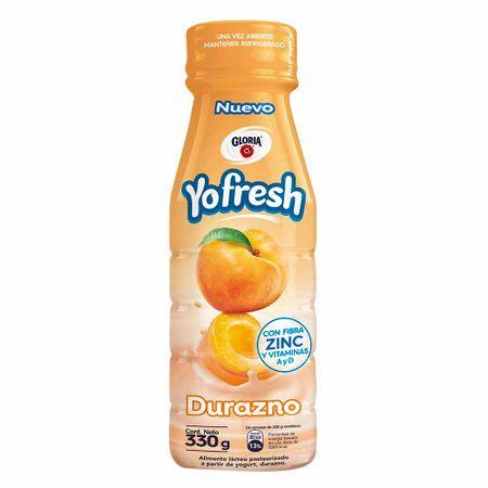 alimento-lacteo-gloria-yofresh-durazno-botella-330g