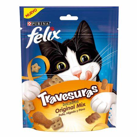 comida-para-gatos-purina-felix-mix-bocaditos-pollo-higado-y-pavo-doypack-60gr
